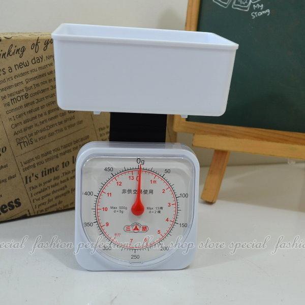 三箭牌料理秤500G 免電池 非電子秤 彈簧秤 食品秤HI450【GN470】◎123便利屋◎