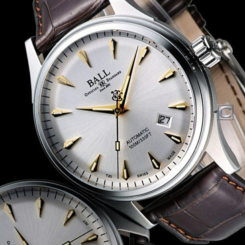 BALL 波爾錶 Firman Racer Classic 經典機械腕錶 NM2288C-LJ-SL
