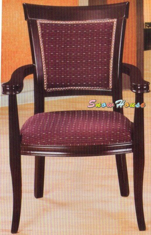 ╭☆雪之屋居家生活館☆╯A290-02 306A古典雅緻布面房間椅/洽談椅/休閒椅