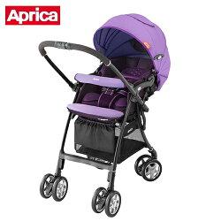 【出清專區】Aprica愛普力卡嬰幼兒手推車-LUXUNA CTS 前瞻系列(薰衣紫PR)