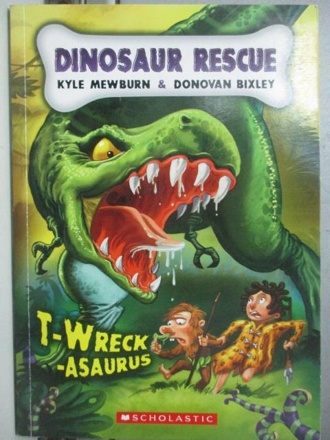 ~書寶 書T2/少年童書_JCX~Dinosaur Rescue_Mewburn