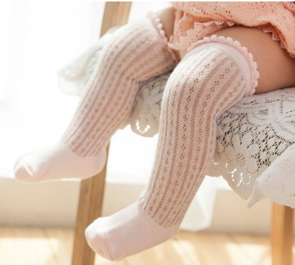 夏天必備 超透氣寶寶長襪 網眼長襪 兒童膝上襪 長襪 寶寶短襪 寶寶襪 兒童襪 嬰兒襪子 襪女童長襪