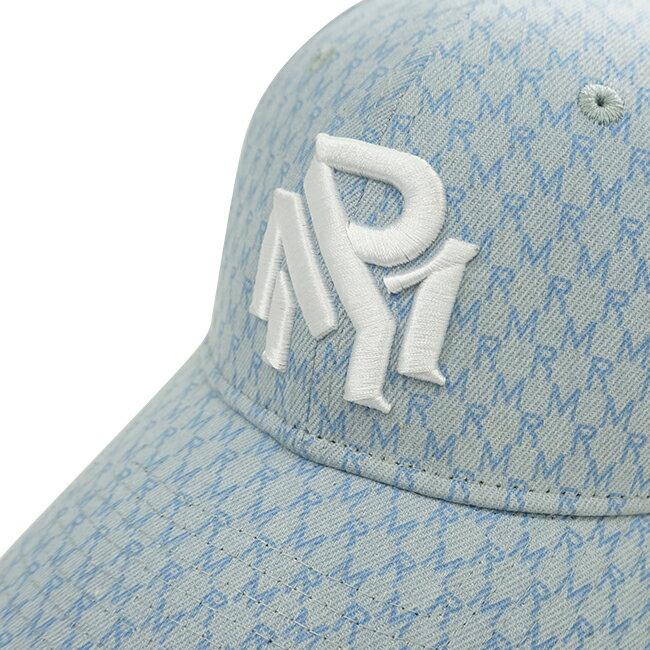 RM滿版花紋老帽-藍 8
