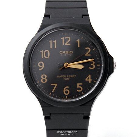 CASIO卡西歐金色數字手錶【NEC1】原廠公司貨
