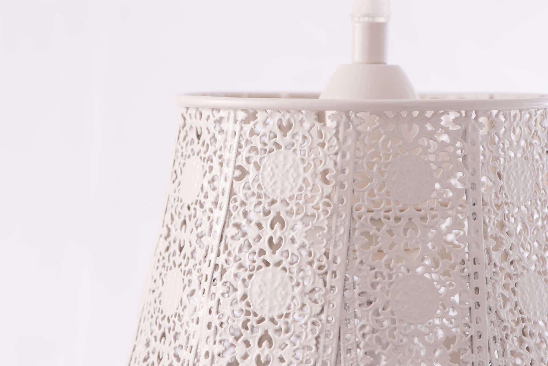 鄉村風米白吊燈-BNL00074 2