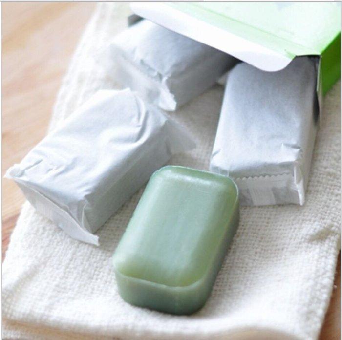 日本製 熊本 地の塩社 艾草保濕滋潤皂(98gX4入)*夏日微風* 2