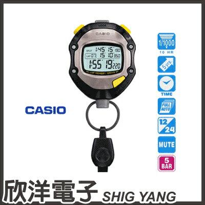 ※ 欣洋電子 ※ CASIO 卡西歐 1/1000秒單位防水型碼錶 HS-70W
