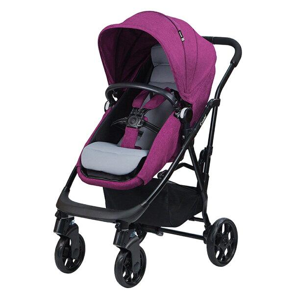 【麗嬰房】CombiArk雙向大輪魔術睡眠艙手推車-極光紫