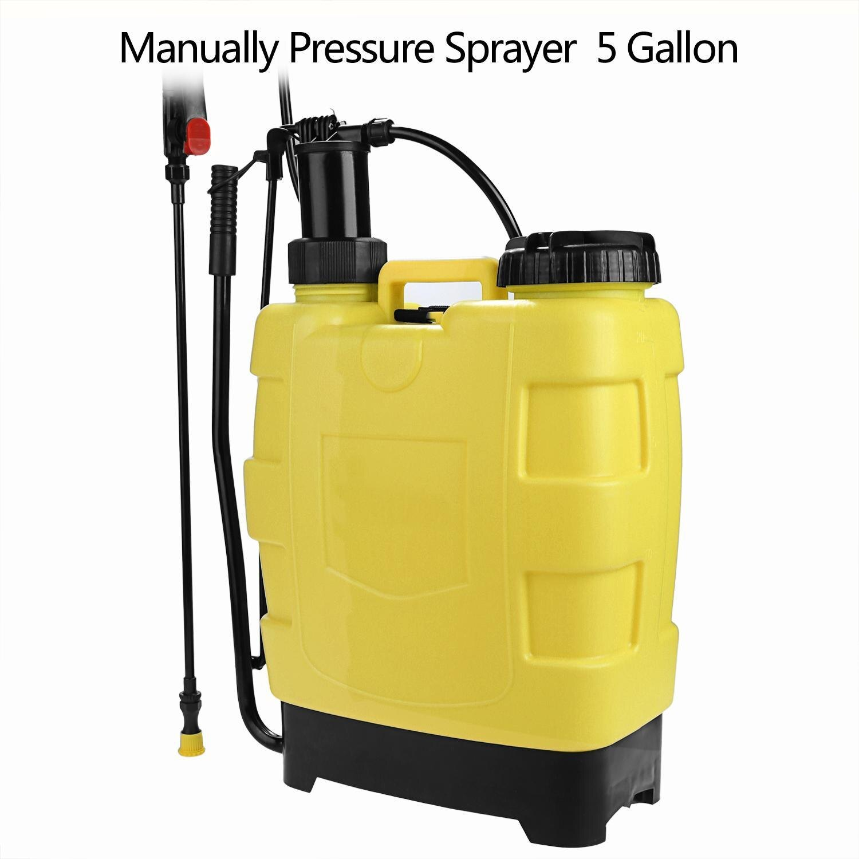 Portable Pressure Sprayer Knapsack 20L Garden Yard 0