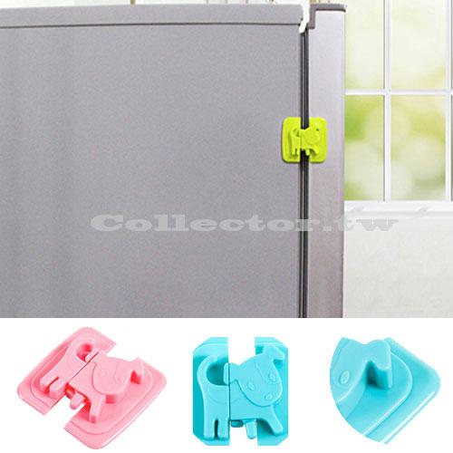 【F16091201】狗狗造型安全鎖 兒童冰箱鎖 衣櫃安全鎖 簡易櫃門鎖 抽屜安全鎖
