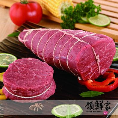 【領鮮家】冷凍真空☆美國Choice/Prime菲力牛排~大份量1kg~可切4-5片(厚度2.5cm)