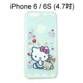 Hello Kitty 閃粉軟殼 [Bear] iPhone 6 / 6S (4.7吋)【三麗鷗正版授權】