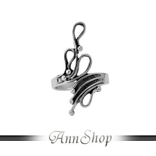 AnnShop~925純銀‧藤葉滴露戒指~銀飾飾品 情人 r92052
