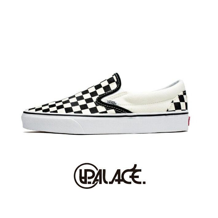 【VANS】Classic Slip-On 棋盤格懶人鞋 平底鞋 懶人鞋 VN000EYEBWW (palace store) 0