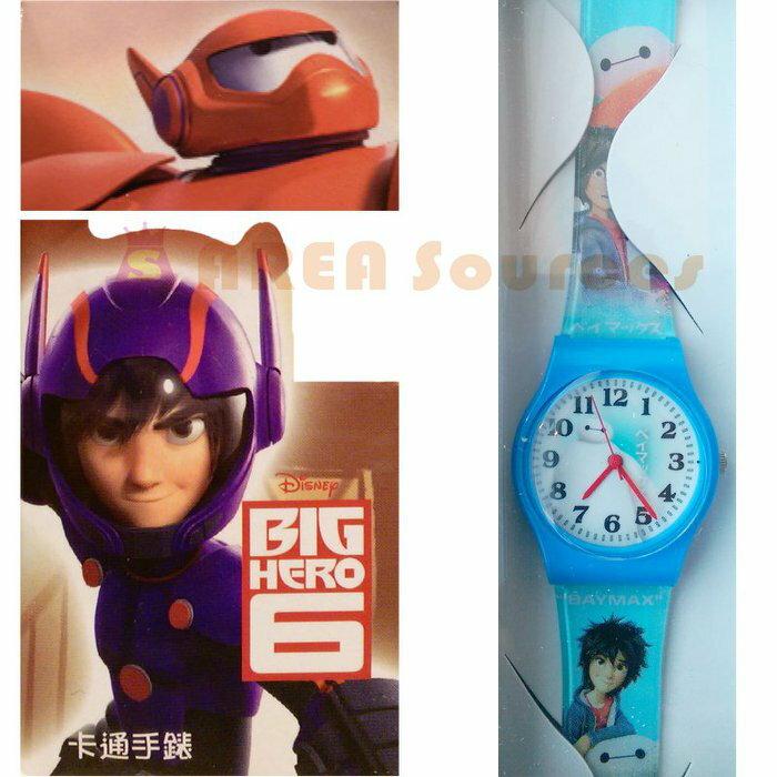 【禾宜精品】*正版* 迪士尼 大英雄天團 手錶 兒童錶 休閒錶 卡通錶 生活百貨 (BG-528)