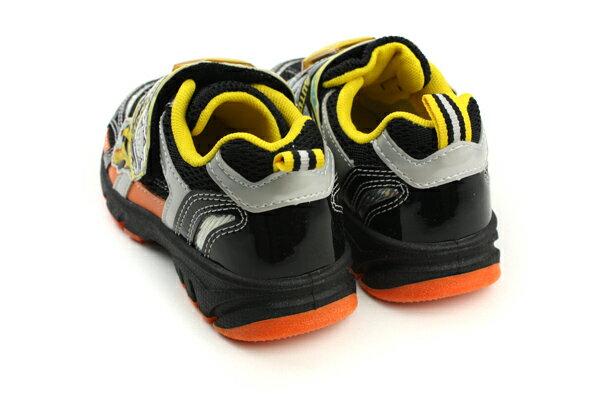 變形金鋼 TRANSFORMERS  運動鞋 球鞋 魔鬼氈 舒適 黃色 黑色 中童 童鞋 TF5169 no698 1
