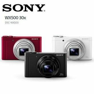 【滿3千,15%點數回饋(1%=1元)】SONYWX500數位相機公司貨免運0利率