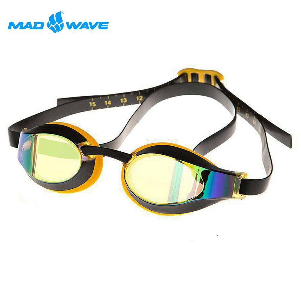 俄羅斯MADWAVE成人泳鏡X-LOOK RAINBOW 1