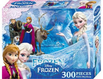 冰雪奇緣300片盒裝拼圖(B)