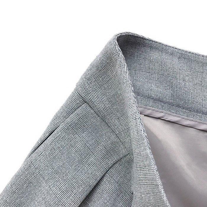 短褲 素色 雙釦 寬版腰 壓摺 寬管褲 百搭 短褲【HA850】 BOBI  02 / 14 7
