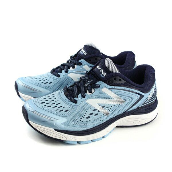 NEWBALANCE860v8跑鞋運動鞋淺藍色女鞋W860CB8-Dno443