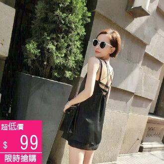 夏季性感露臍鏤空吊帶背心內衣【F02613】-預購