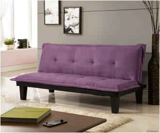 !!新生活家具!! 布沙發床 紫色 沙發床 三人位沙發床 限時特價 黑色 紅色 伊梧奺 非 H&D ikea 宜家