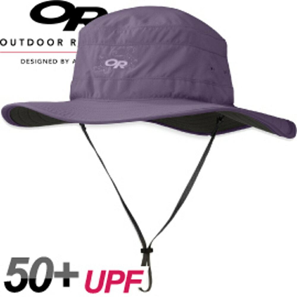 【Outdoor Research 美國 WOMEN S SOLAR ROLLER 抗紫外線透氣中盤帽〈芋紫〉】243442/遮陽帽/防曬帽