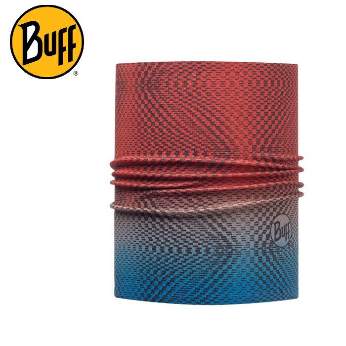 Buff 快乾頭盔巾/排汗頭巾/脖圍 Helmet Liner Pro 113699-555 藍黃果醬 馬拉松/自行車/路跑