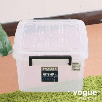 E&J【660004】Mr.box免運費,J03透明萬寶箱18.5L(3入) 收納箱/整理箱/收納袋/衣櫃/衣櫥