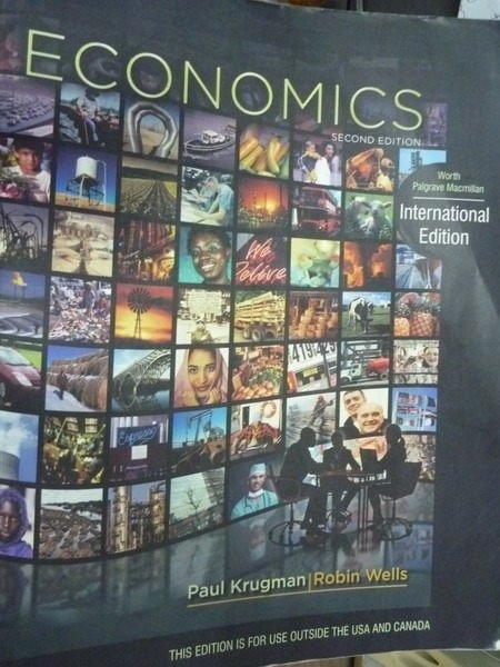 【書寶二手書T8/大學商學_QAL】Economics_Krugman,etc_2/e