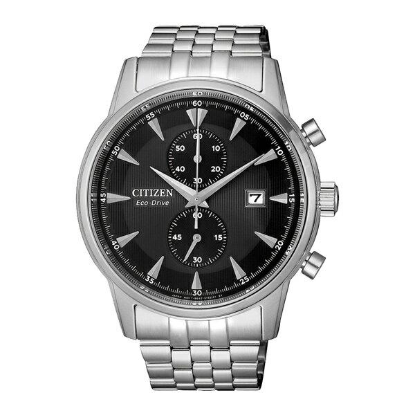 富茂鐘錶 CITIZEN Eco-Drive 光動能時尚計時腕錶 43mm /  CA7001-87E