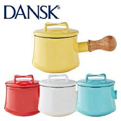丹麥DANSK琺瑯材質牛奶鍋/片手鍋/Kobenstyle-附蓋560ml。共4色-日本必買 日本樂天代購(6048*0.7)