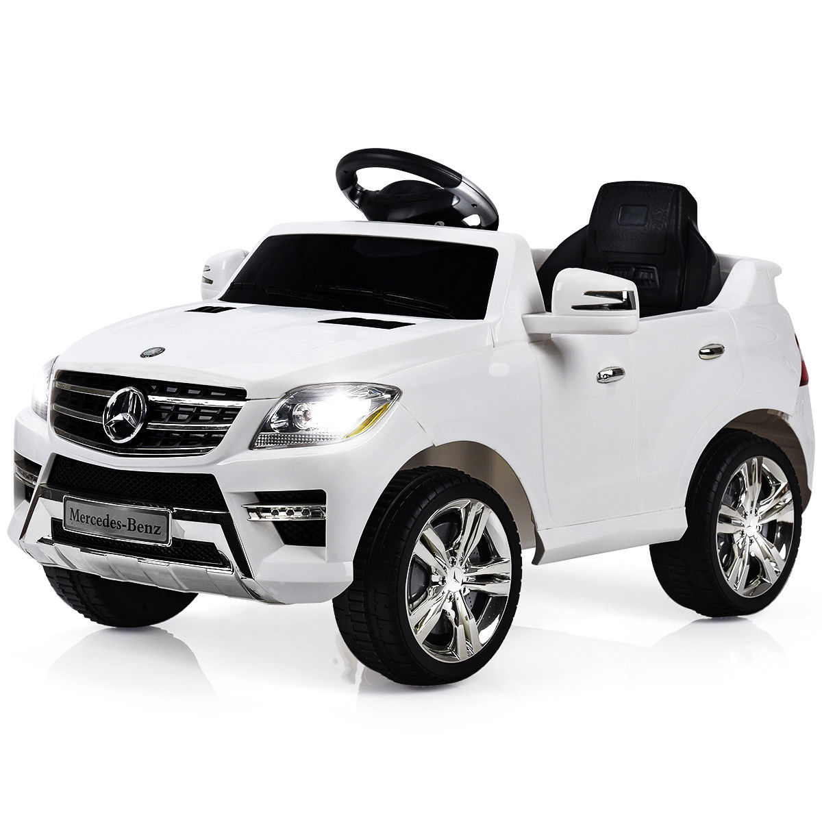 Costway Mercedes Benz Ml350 6v Electric Kids Ride On Car Licensed Mp3 Rc Remote Control 0