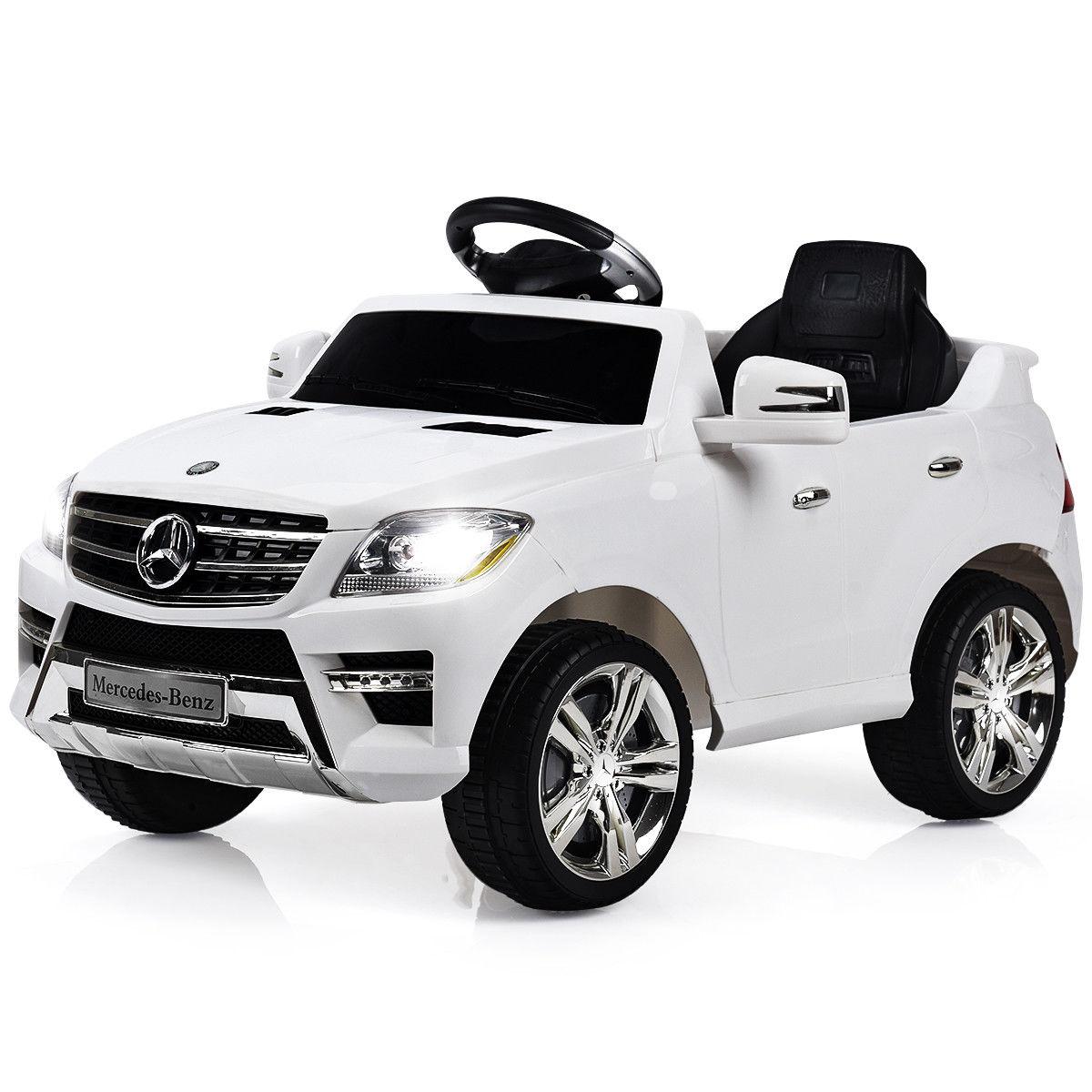 Costway: Costway Mercedes Benz ML350 6V Electric Kids Ride