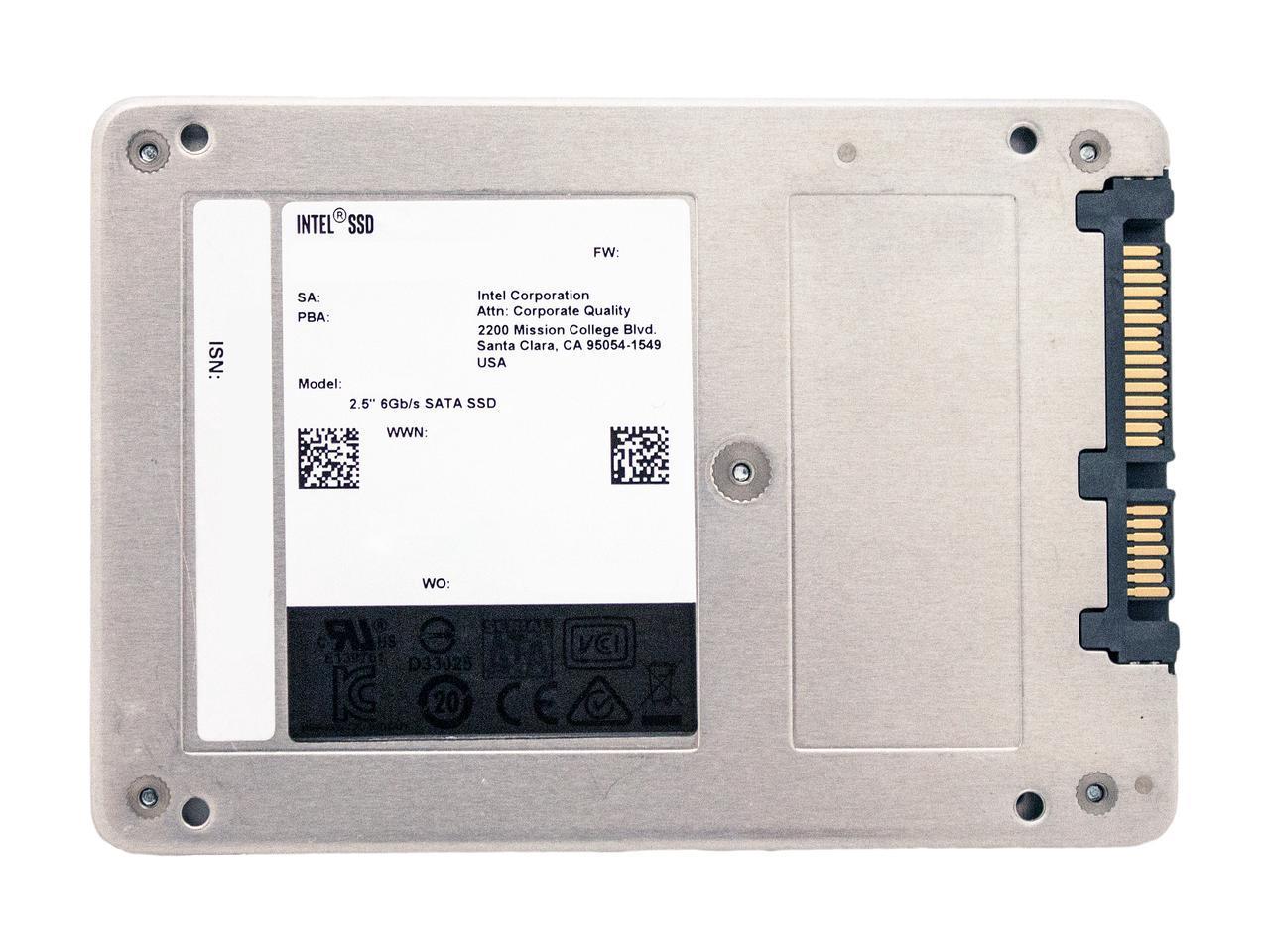 """Intel SSD 545s Series 512GB 2.5"""" SATA III 64-Layer 3D NAND TLC Internal Solid State Drive SSDSC2KW512G8X1 2"""