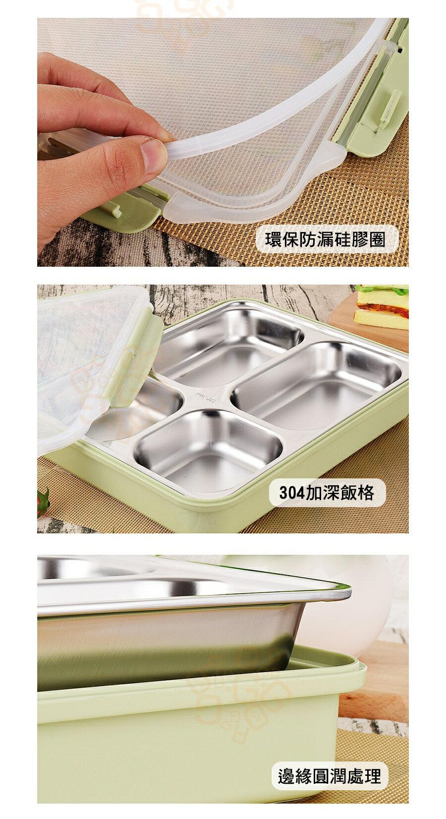 ORG《SD1012》304不鏽鋼~ 可微波 五格 便當盒 野餐盒 餐盒 露營 餐盤 環保餐盒 不鏽鋼餐具 不鏽鋼餐盒 4