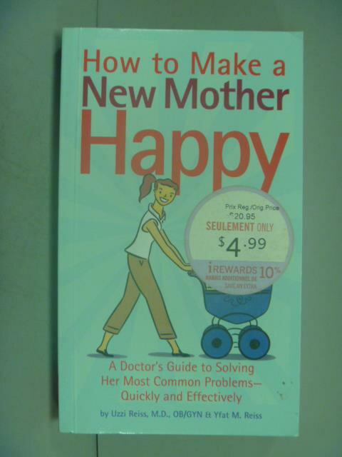 ~書寶 書T1/原文小說_NHD~How to Make a New Mother Hap