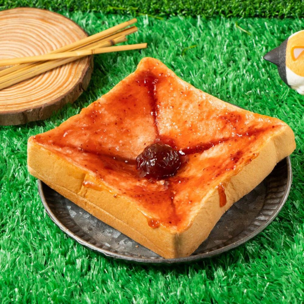 吐司熊 招牌草莓 厚片吐司 (1入/袋)