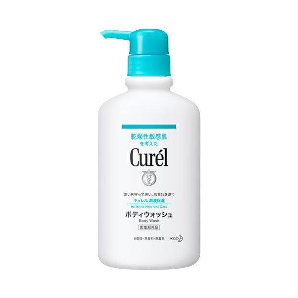 Curel潤浸保濕沐浴乳420ml《康是美》
