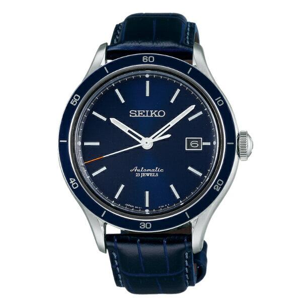Seiko Presage 6R15-02V0B(SARG015J)城市經典機械腕錶/藍面41mm