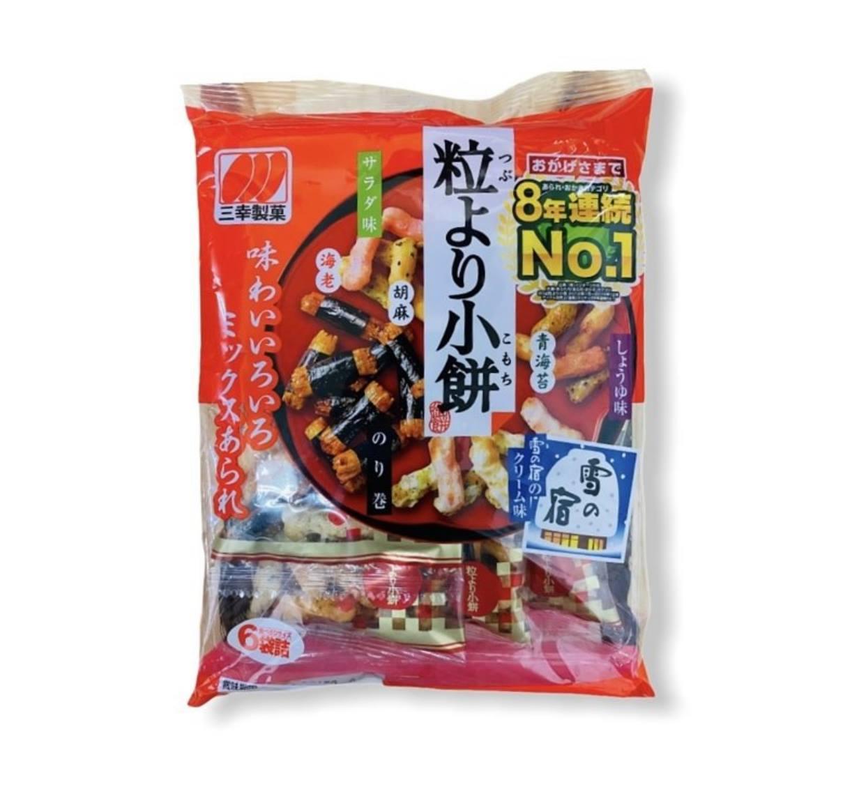 三幸製菓 七種綜合米果 6小袋入