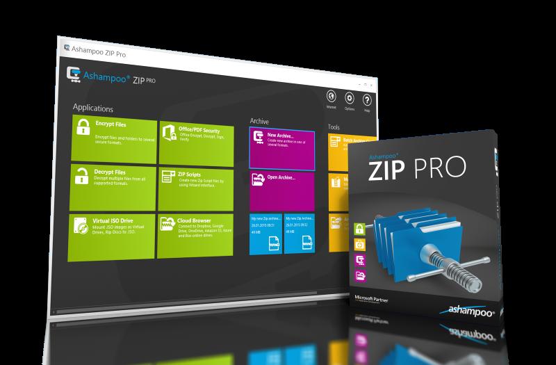 壓縮/解壓縮/加解密/備份軟體 - Ashampoo® ZIP Pro