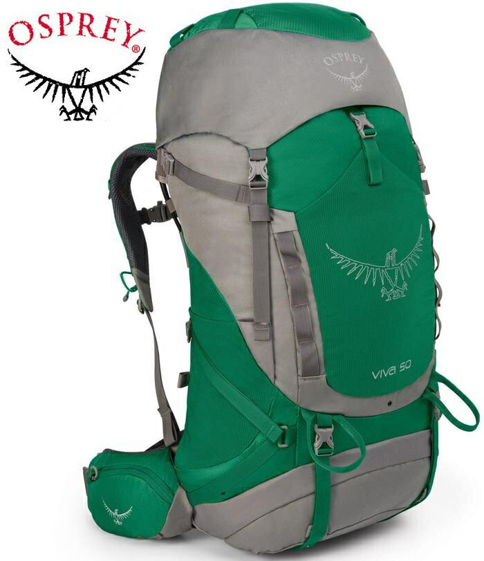 Osprey Viva 50 登山背包/健行背包/大背包 女款 綠/台北山水