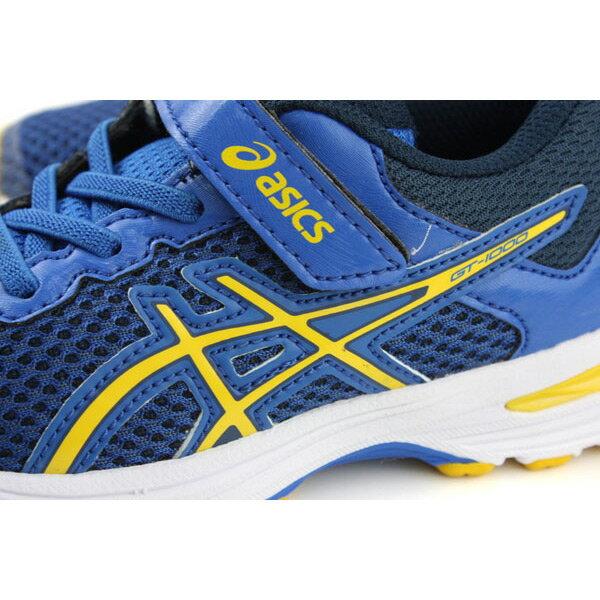 亞瑟士 ASICS GT-1000 6 PS  慢跑鞋 運動鞋 深藍色 中童 C741N-4504 no286 3