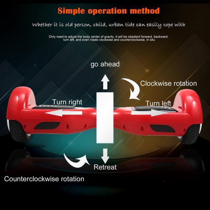 6.5inch 2 Wheels Electric Self-Balancing Smart Drifting Scooter 5