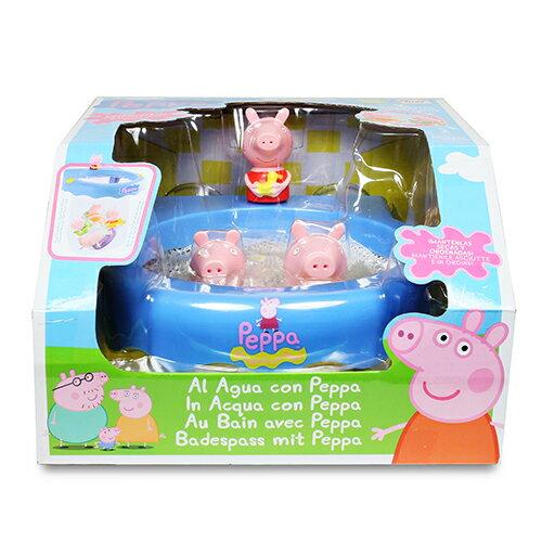 快樂洗澡遊戲組/ 粉紅豬小妹/ peppa pig / 洗澡玩具/ 英國知名卡通人物/ YOYOTV/ 伯寶行