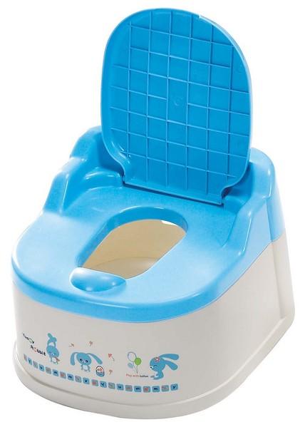 『121婦嬰用品館』亞米兔 幼兒坐式便器(粉/藍) 3