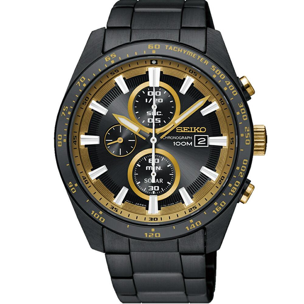 SEIKO Criteria勁速交鋒計時腕錶 V176-0AV0K SSC659P1 2