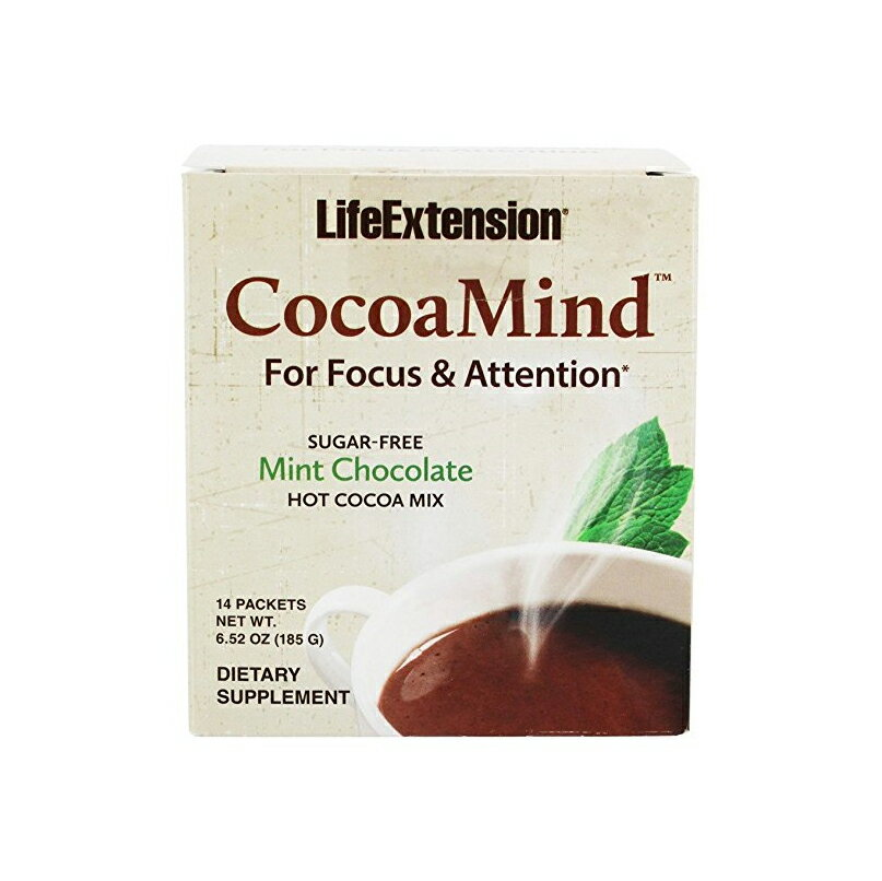 Fast Shipping Supplements: Life Extension Cocoa Mind ...
